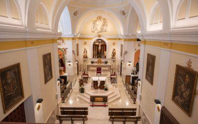 Restauración de la antigua ermita del Santo Cristo