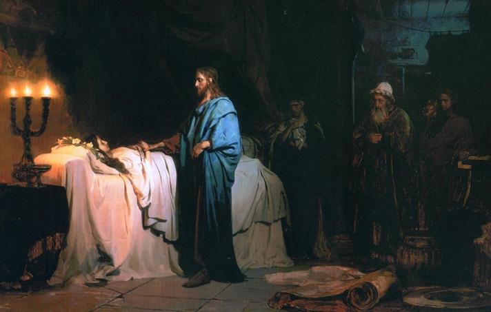 Ilja Jefimowitsch Repin - Raising of Jairus' Daughter
